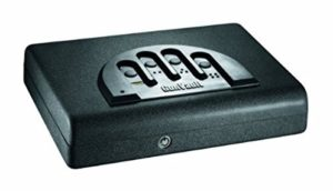 small biometric gun safe