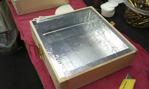 faraday cage gun drawer